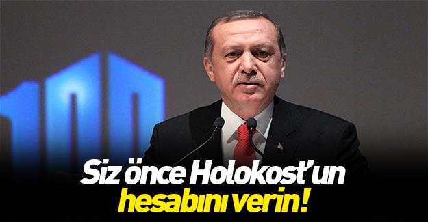 Cumhurbaşkanı Erdoğan'dan Almanya'ya sert tepki