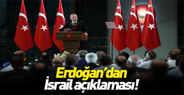 Erdoğan: İsrail, Obama'nın şahitliğinde özür diledi