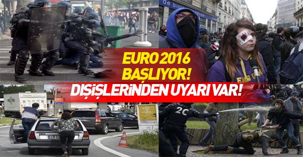 EURO 2016 terör tehditlerine rağmen başlıyor