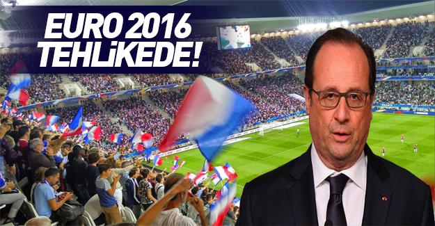 EURO 2016'ya günler kala şok açıklama!