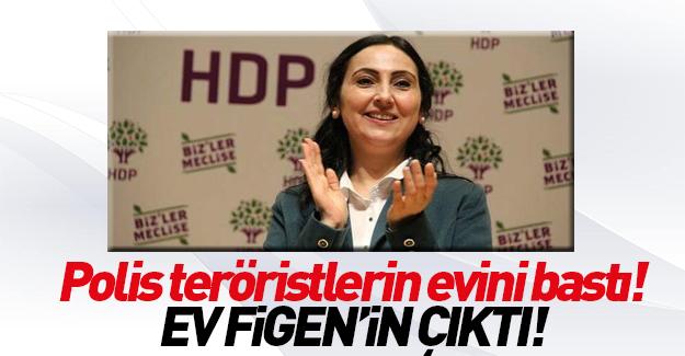 Figen Yüksekdağ'ın evini polis bastı