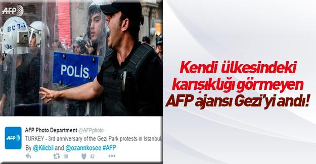 Fransızlar Gezi'nin yıl dönümünü görüntüledi