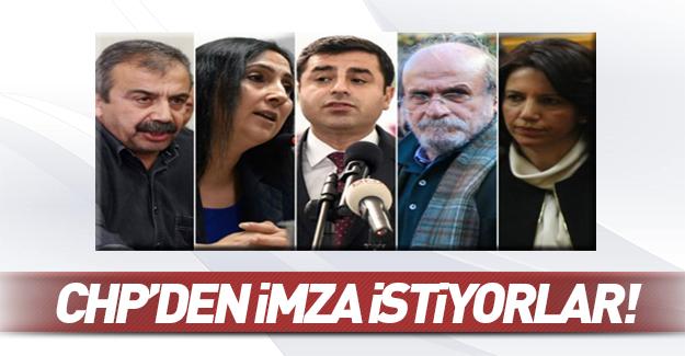 HDP 110 imza için CHP'den destek istedi