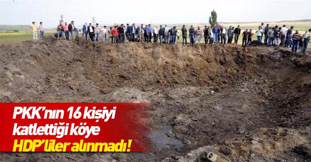 HDP büyük şok yaşadı! O köy onları kabul etmedi