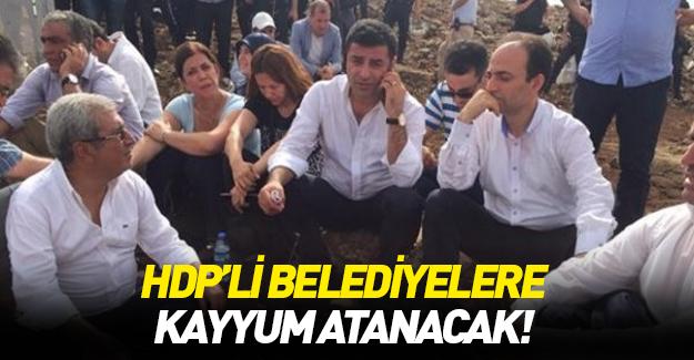 HDP'li belediyelere kayyum!