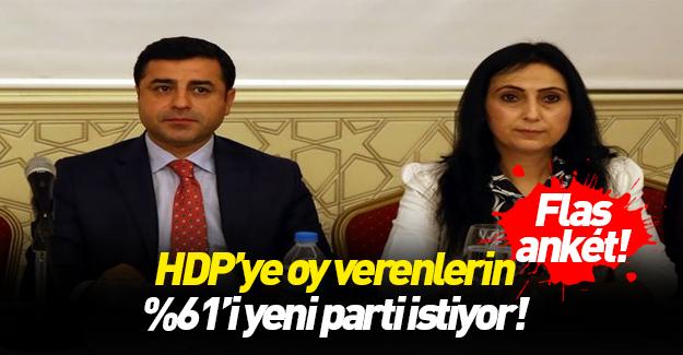 HDP'li seçmen yeni parti istiyor