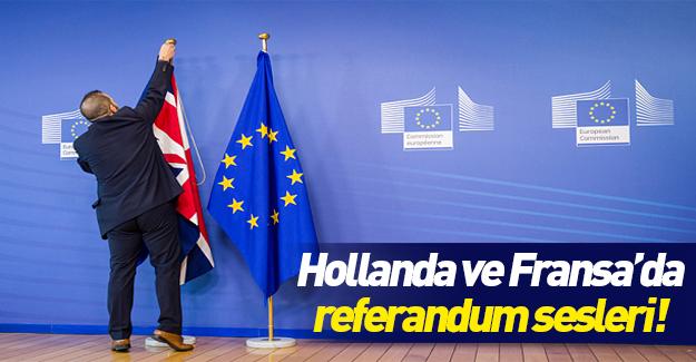 Hollanda'da da AB'den çıkma referandumu teklif edildi