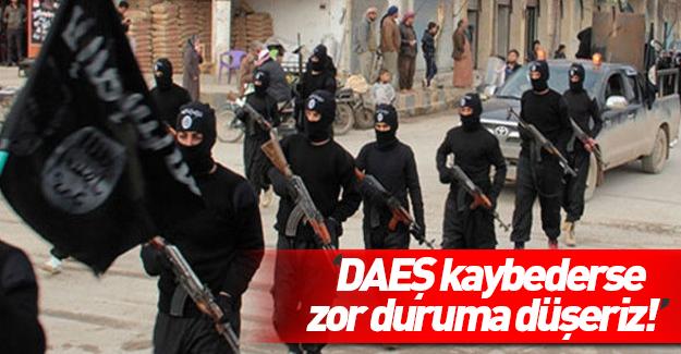 'IŞİD kaybederse zor duruma düşeriz'