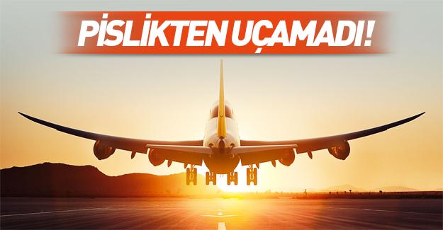 Lufthansa rezil oldu! Uçak pislikten kalkamadı!