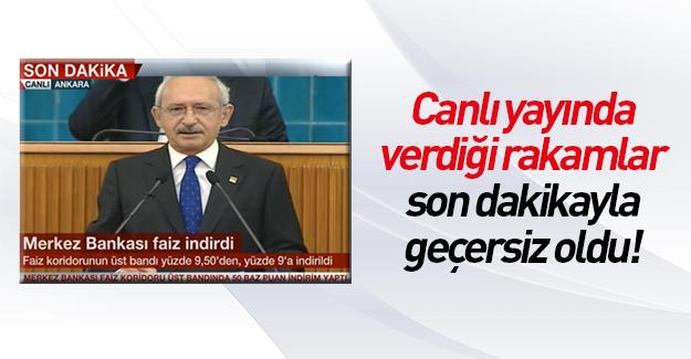 Merkez Bankası'ndan Kılıçdaroğlu'na faiz golü!