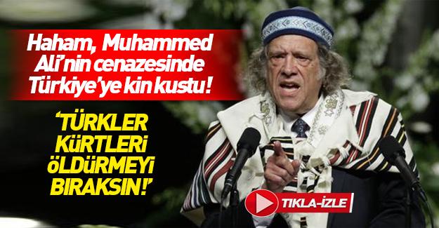 Muhammed Ali'nin cenazesinde Türkiye'ye çirkin sözler