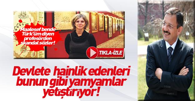 Özhaseki'den hakaretçi Prof'a tepki