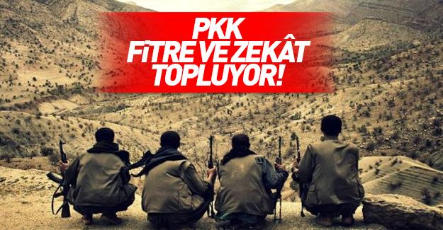PKK için fitre ve zekât topluyorlar!