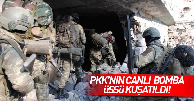 PKK'nın canlı bomba üssü kuşatıldı!