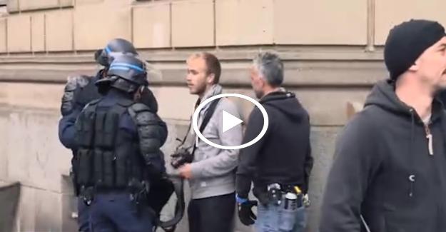 Polis başında bekleyip tek tek sildirdi!