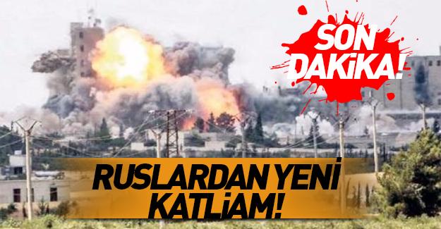 Ruslardan vakum bombasıyla katliam!