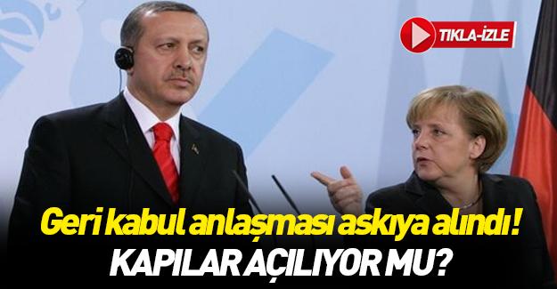 Türkiye Avrupa Birliği ile yaptığı anlaşmayı askıya aldı