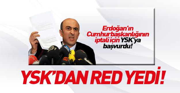 YSK Erdoğan'ın diplomasıyla ilgili kararını verdi