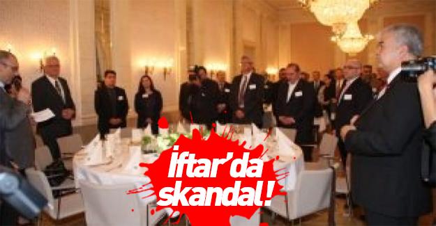 Almanya'dan skandal iftar!