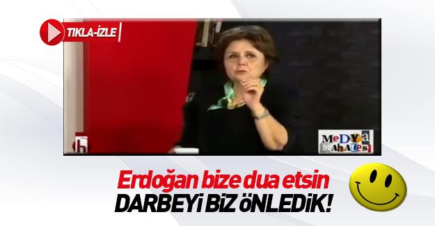 Ayşenur Arslan: Erdoğan yatsın kalksın bize dua etsin
