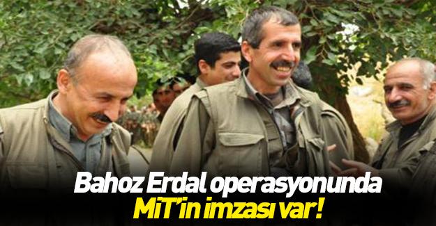 Bahoz Erdal operasyonunda MİT imzası!