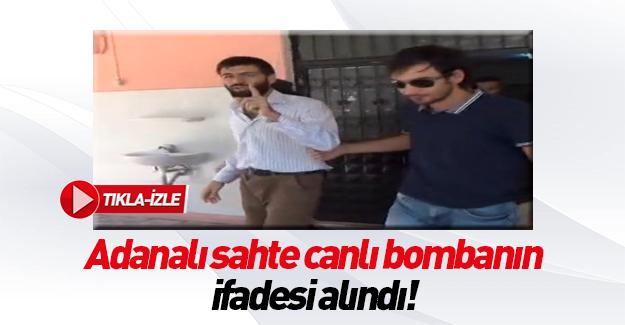 Bomba paniğine neden olan şüpheli konuştu