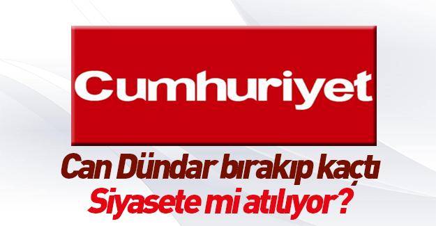 Can Dündar Cumhuriyet'ten istifa etti