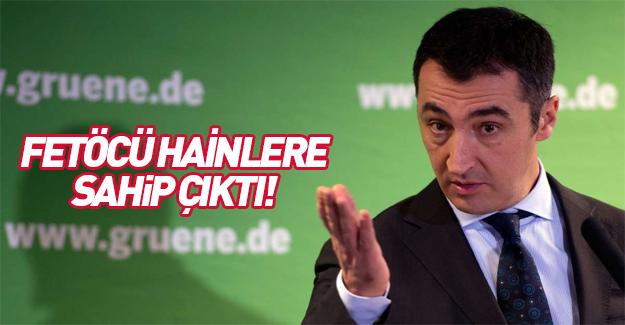 Cem Özdemir, FETÖ'cüleri Avrupa'ya kaçırmak istiyor