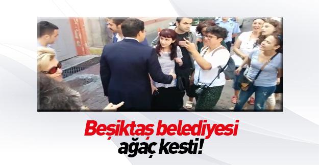 CHP'li başkan protestoculardan kaçtı