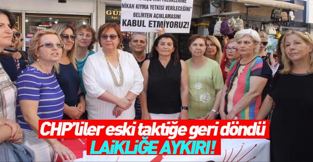 CHP'liler imza topluyor: Bu laikliğe aykırı