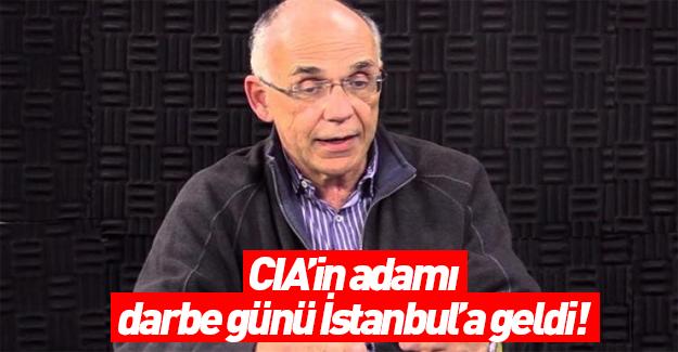 CIA'li Barkey darbe günü İstanbul'a geldi