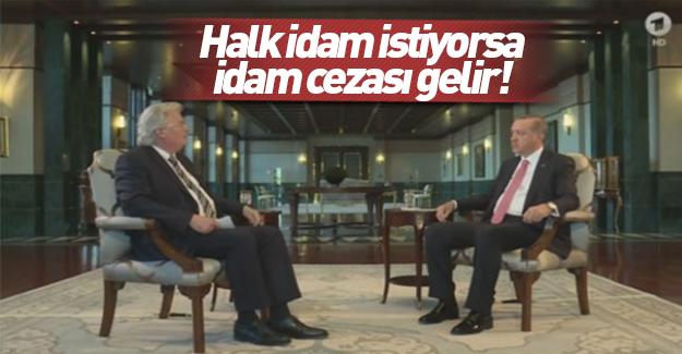 Cumhurbaşkanı Erdoğan ARD'ye konuştu