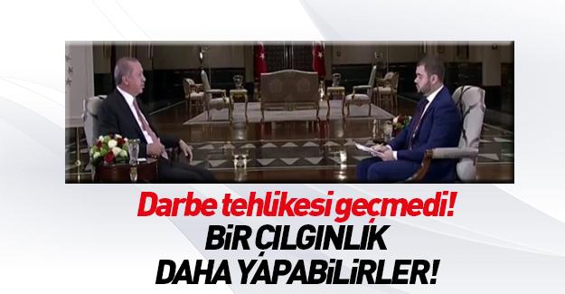 Cumhurbaşkanı Erdoğan'dan 2. darbe girişimi uyarısı
