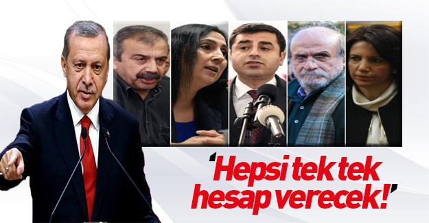 Cumhurbaşkanı Erdoğan'dan dokunulmazlık yorumu