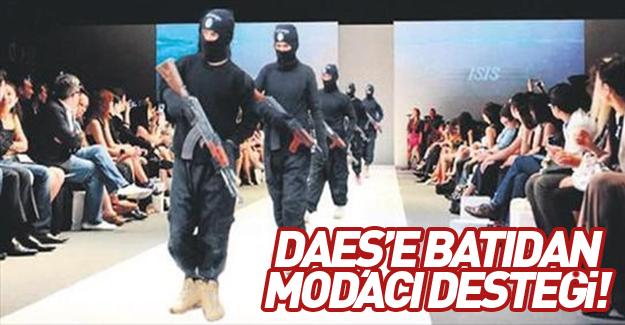 DAEŞ'e Batı'dan modacı desteği!