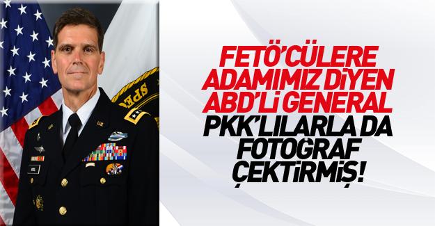 FETÖ'ye sahip çıkan ABD'li general YPG'yi ziyaret etmişti