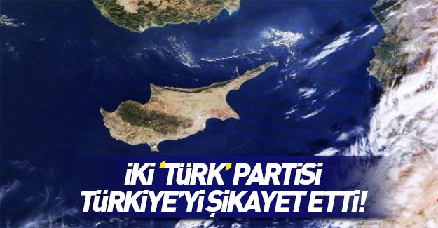 İki Türk partisi AP'ye Türkiye'yi şikayet etti
