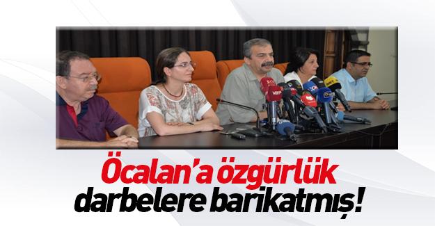 İmralı Heyeti Öcalan'la tehdit etti