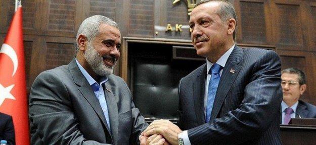 İsmail Haniye, Cumhurbaşkanı Erdoğan'a teşekkür etti