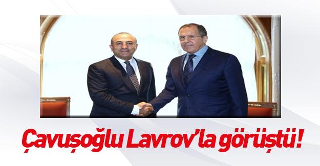 Lavrov ve Çavuşoğlu Soçi'de bir araya geldi