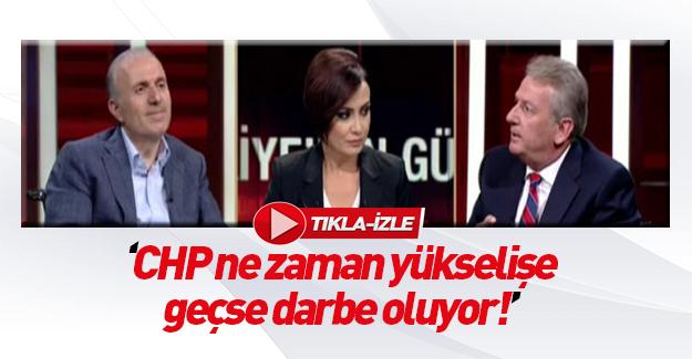 Pekşen: CHP ne zaman yükselişe geçse darbe oldu