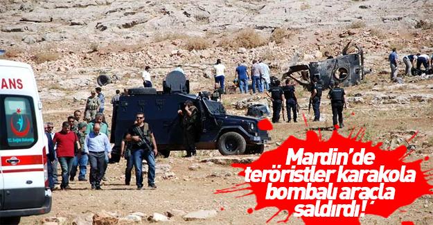 Teröristler Mardin'de jandarma karakoluna saldırdı