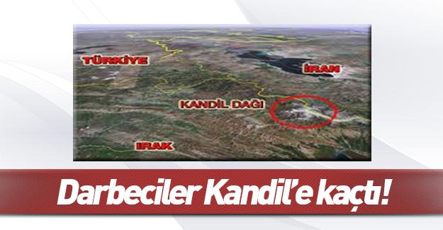 3'ü general 60 darbeci subay Kandil'e kaçtı