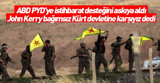 ABD: Suriye'de bağımsız bir Kürt devletine karşıyız