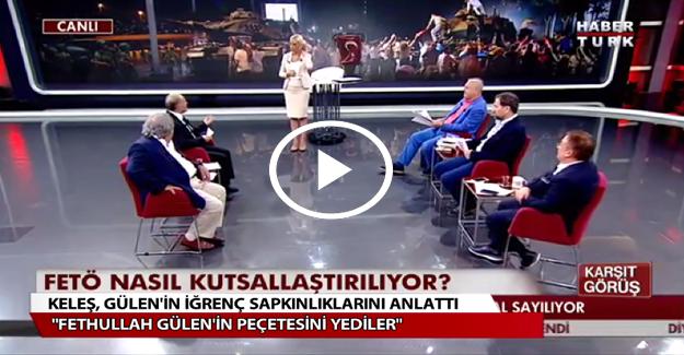 Ahmet Keleş: Gülen'in ağzını sildiği peçeteyi yediler