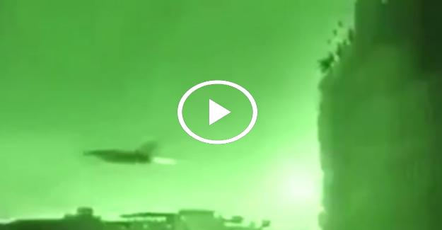 Darbe girişimi gecesi F-16'ya taş atılma anı
