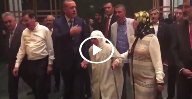 Erdoğan'dan Külliye'de anlamlı hareket!