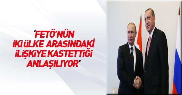 Erdoğan ile Putin Türk-Rus iş adamlarıyla yemekte buluştu