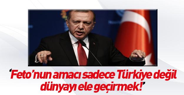 Erdoğan şehit yakınlarına verdiği yemekte konuştu