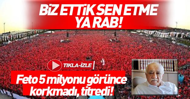 FETÖ Yenikapı mitinginden sonra video yayınladı